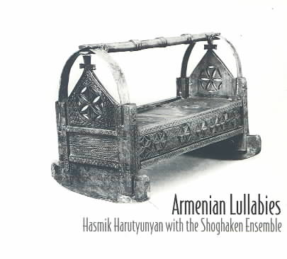 ARMENIAN LULLABIES BY HARUTYUNYAN,HASMIK (CD)